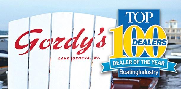 Gordy's Lakefront Marine Wins Top Dealer Award