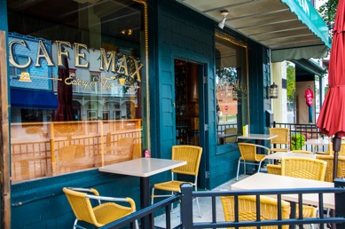 Cafe Max in downtown Culver