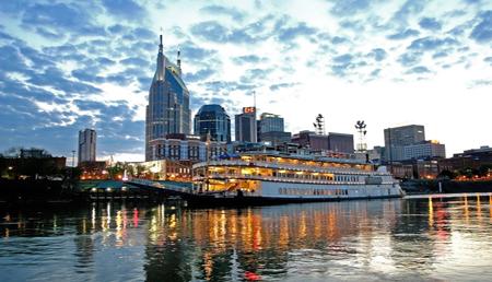 General Jackson showboat in Nashville.