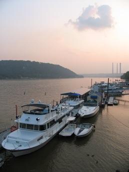 Madison Indiana public docks