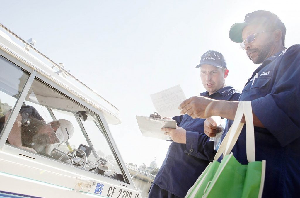Being Boarded by the 'Water Cops'