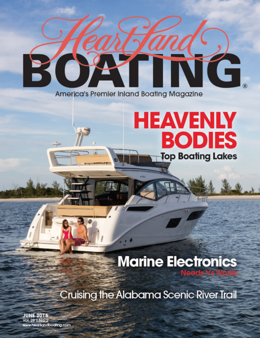 HeartLand Boating Magazine June 2016 Cover