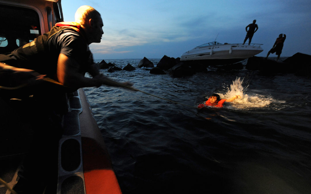 Exiting a Sinking Boat