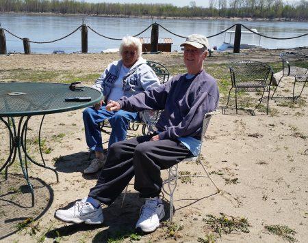 Fern and Charles Hopkins of Hoppies Marina
