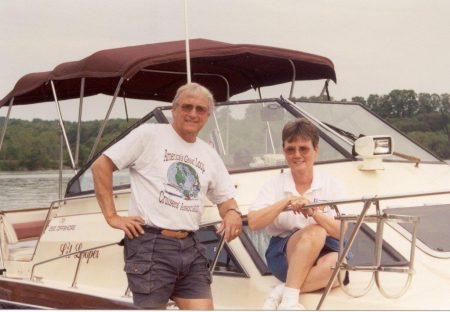 Ron and Eva Stob of the American Great Loop Cruiser's Association