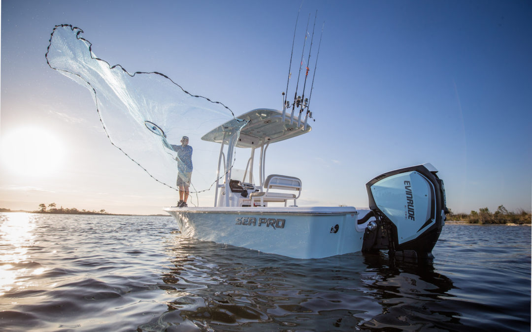 Evinrude Launches New Motors, Engine Tech