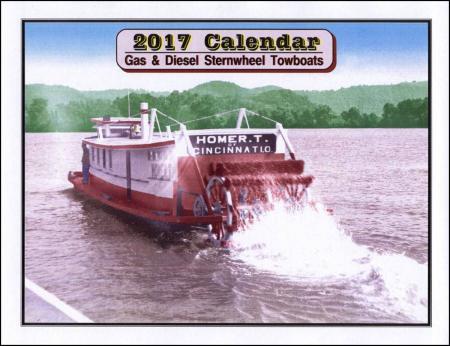 Sternwheel Towboat calendar