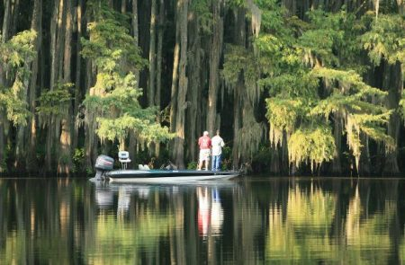 Caddo Lake fishermen