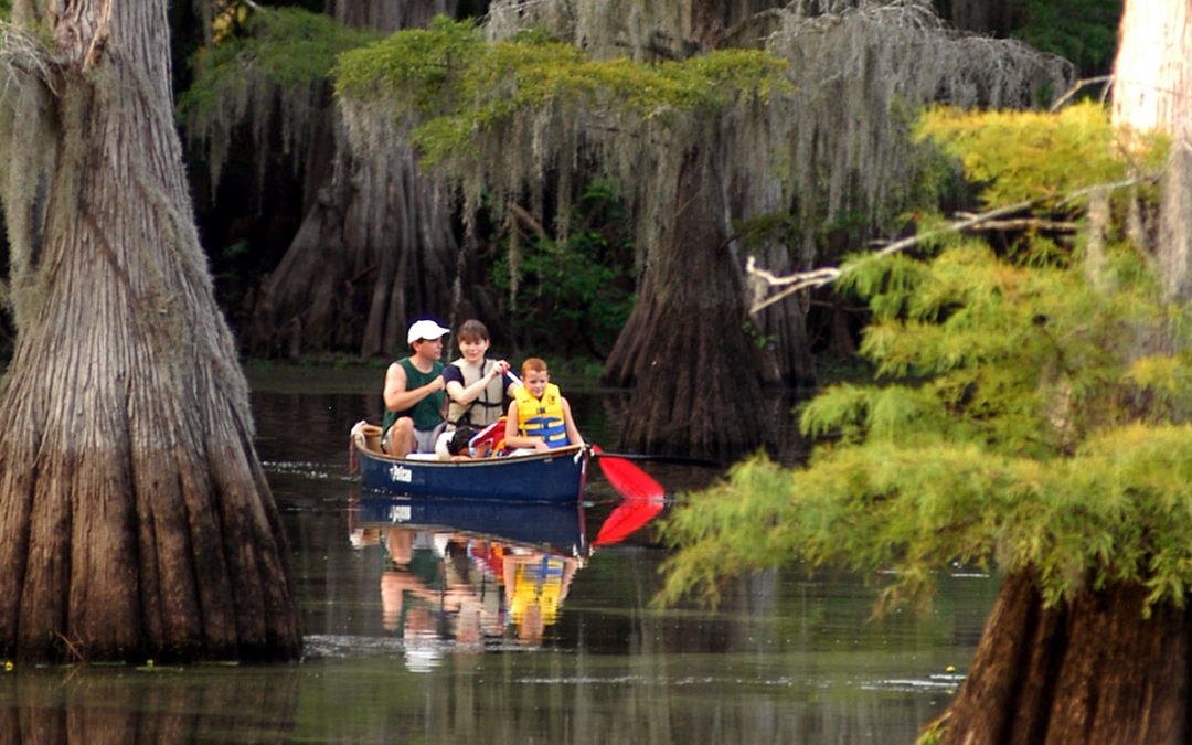 Exploring Caddo Lake in East Texas