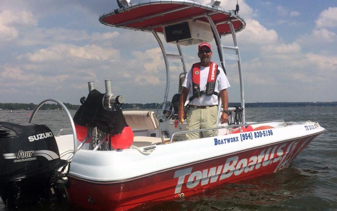 Lifelong Seafarer Brings TowBoatUS to Eagle Mountain Lake