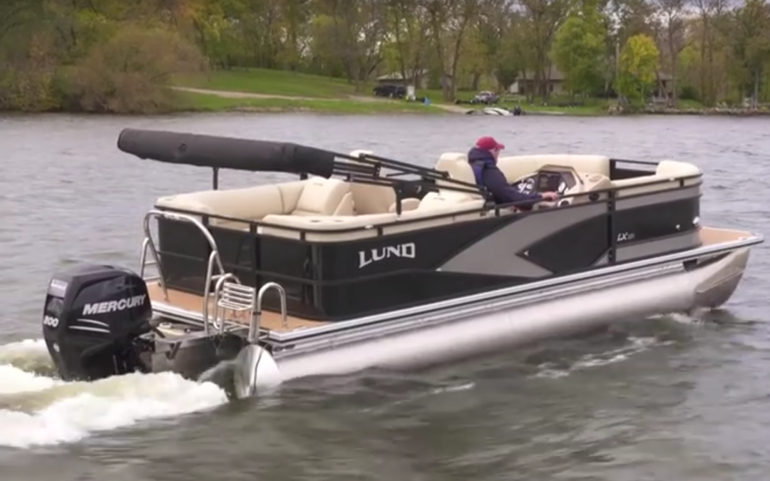 Lund Launches Pontoon Line