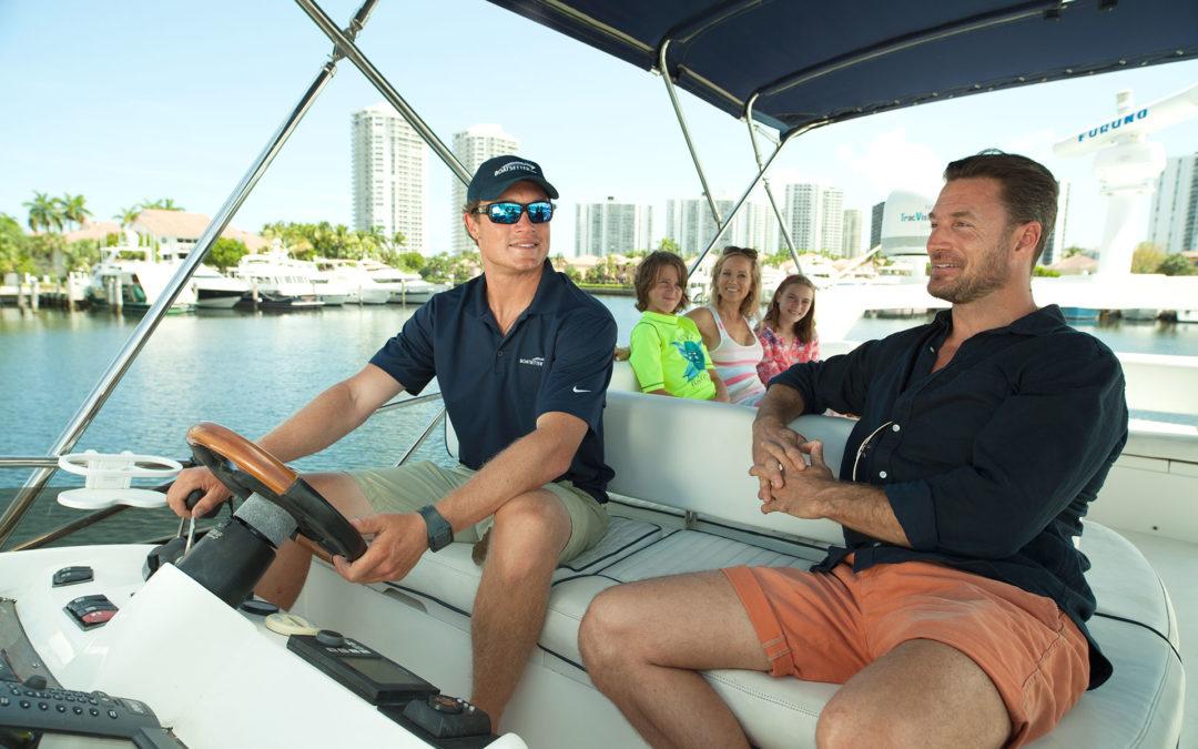 Skippering a Charter Boat