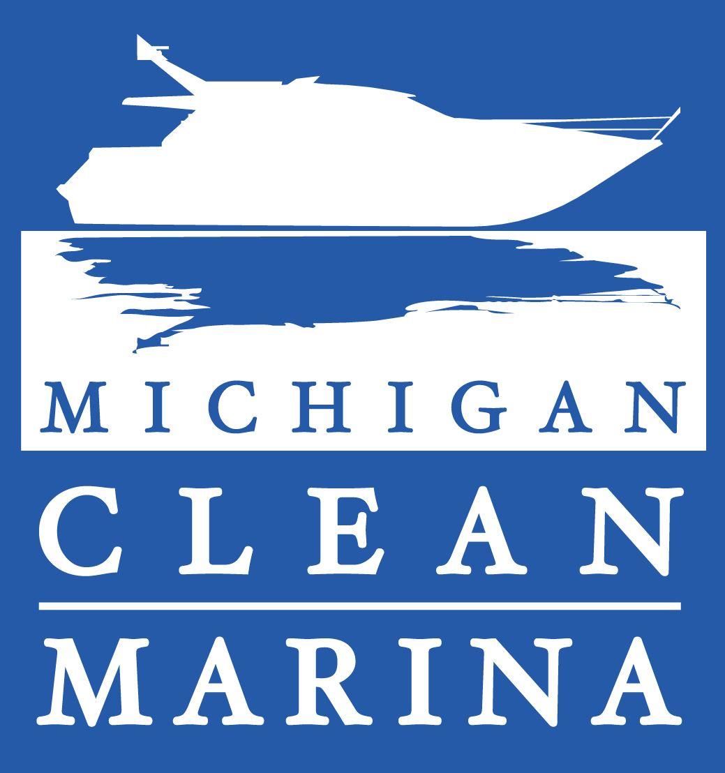 Michigan Clean Marina logo