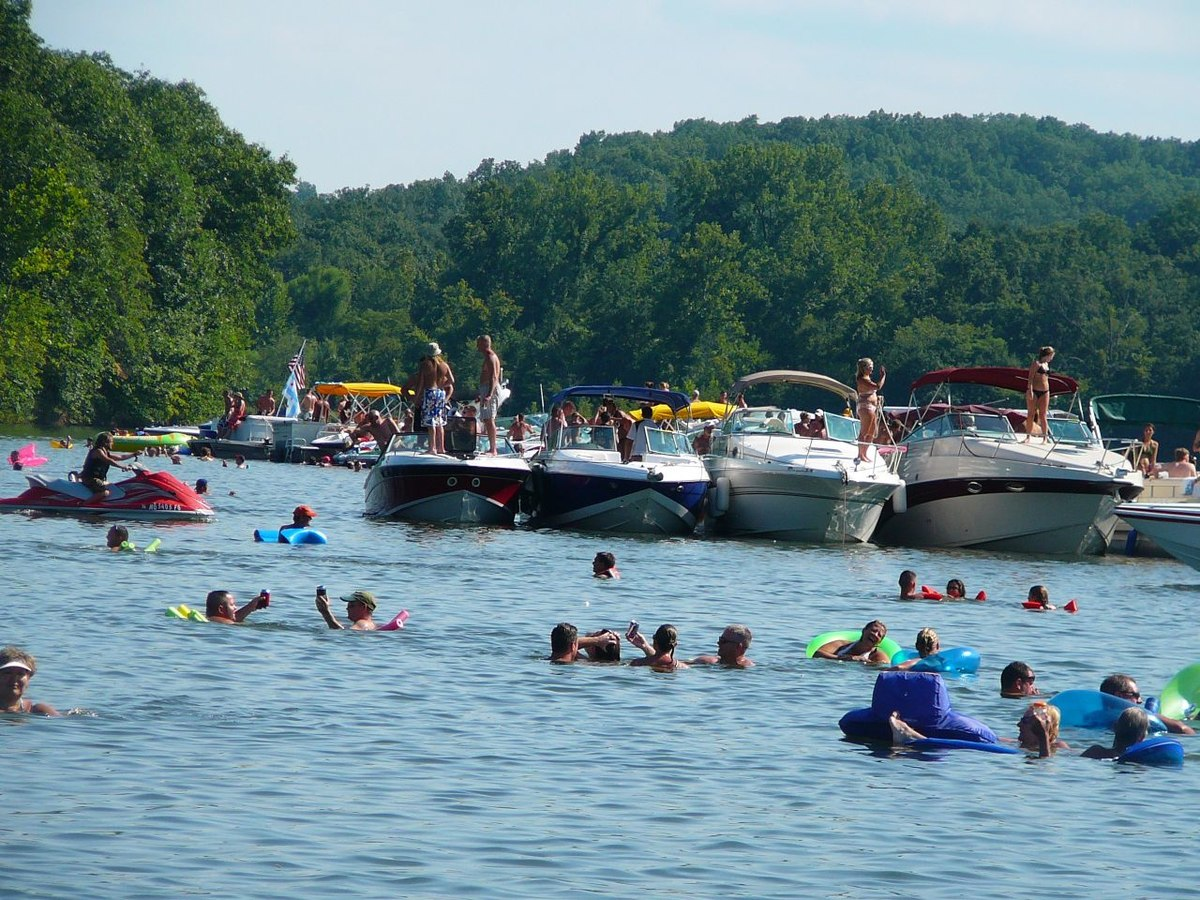 Party Cove in Lake of the Ozarks