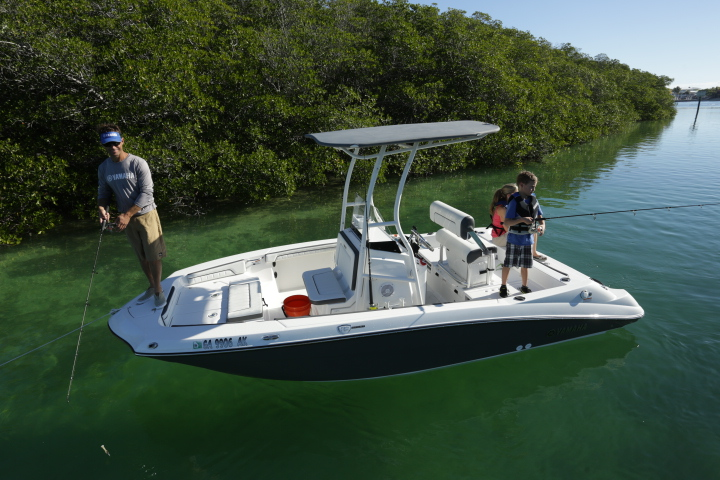 tested yamaha 190 fsh sport quimby 39 s cruising guide