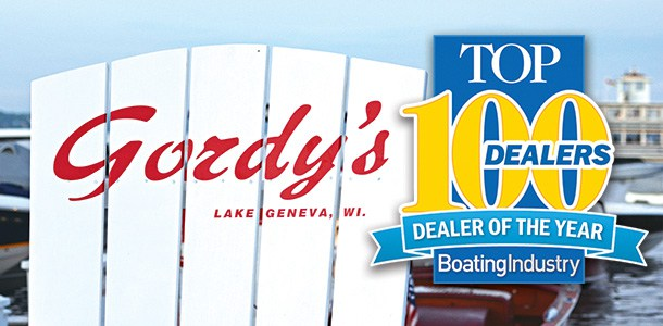 Gordy's Lakefront Marine Wins Top Dealer Award