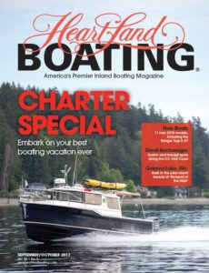 HeartLand Boating September/Ocotber 2017 cover