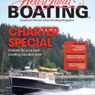 HeartLand Boating September/Ocotber 2017 cover