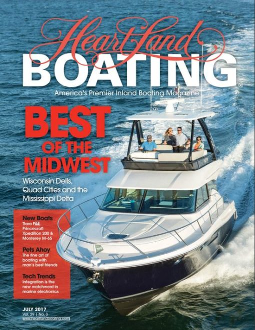 HeartLand Boating July 2017 cover