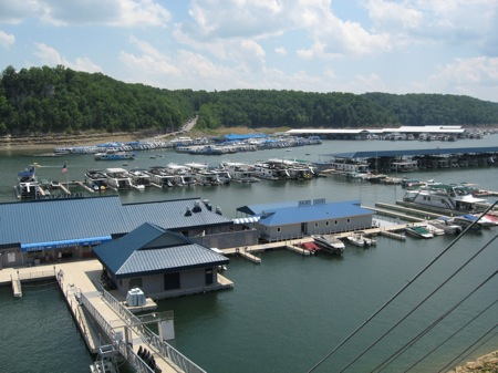 Jamestown Marina on Lake Cumberland