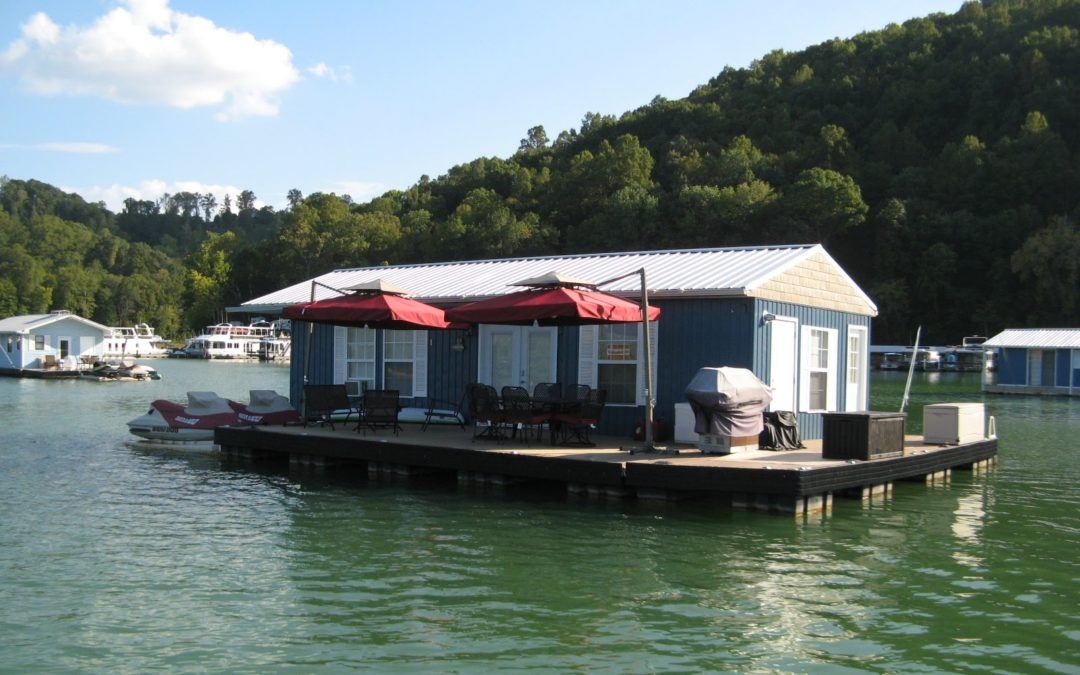 TVA Sunsets Floating Homes
