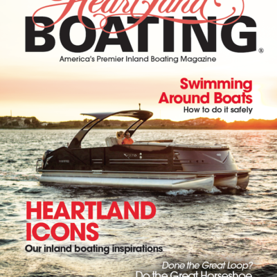HeartLand Boating Magazine July 2016 Cover
