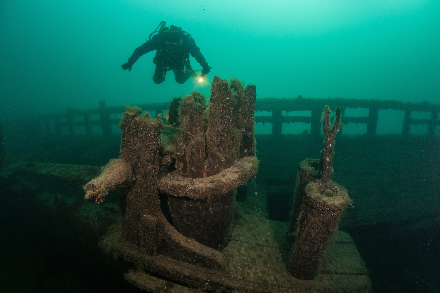 a look at the mystery and controversies surrounding the 1975 shipwreck in the great lakes Great lakes wreck hunter stan stock premiers the presentation of the wreck of the kyle spangler, discovered in august 2003 at the bottom of lake huron the spangler.