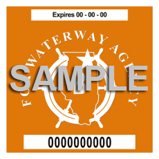 Fox Waterway Sticker