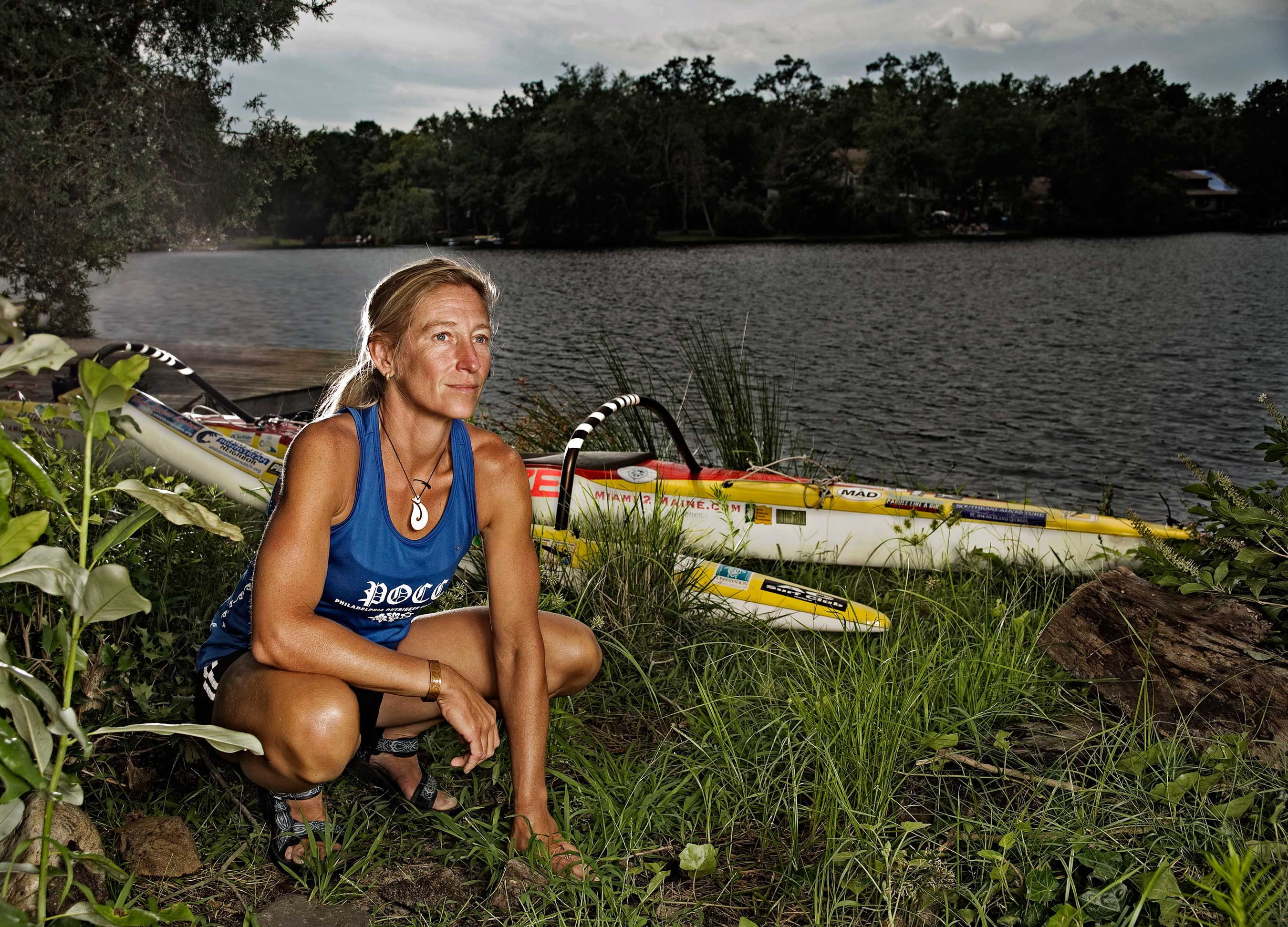 Margo Pellegrino of Paddle4Blue