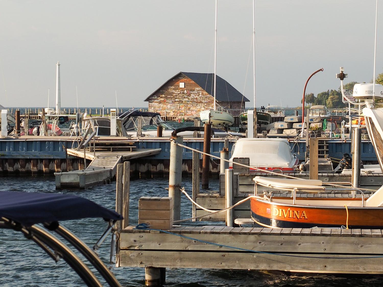 Ephraim Yacht Harbor in Door County