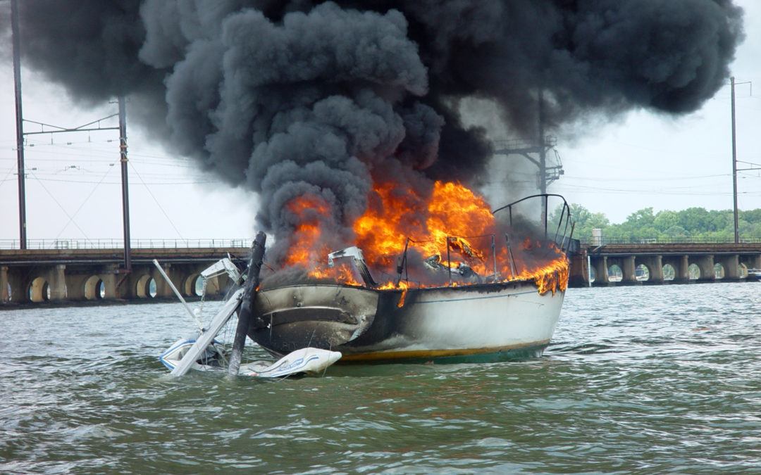 Research Reveals How Boat Fires Happen