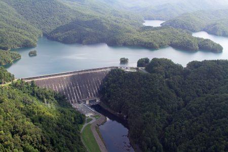 Lake Fontana Dam