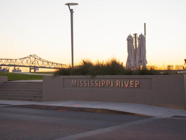 Mississippi Riverfornt in Baton Rogue