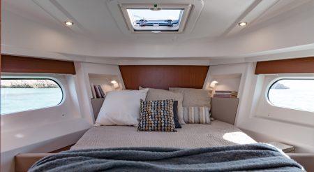 Swift 30 Trawler master stateroom
