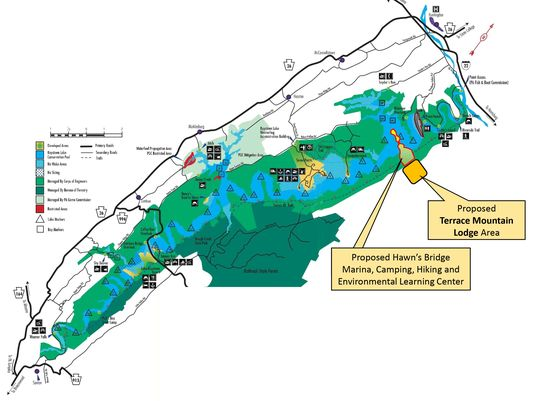 Developer Proposes Resort, Marina on Raystown Lake