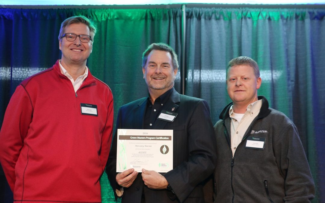"Mercury Marine Earns Sixth ""Green Master"" Honor"