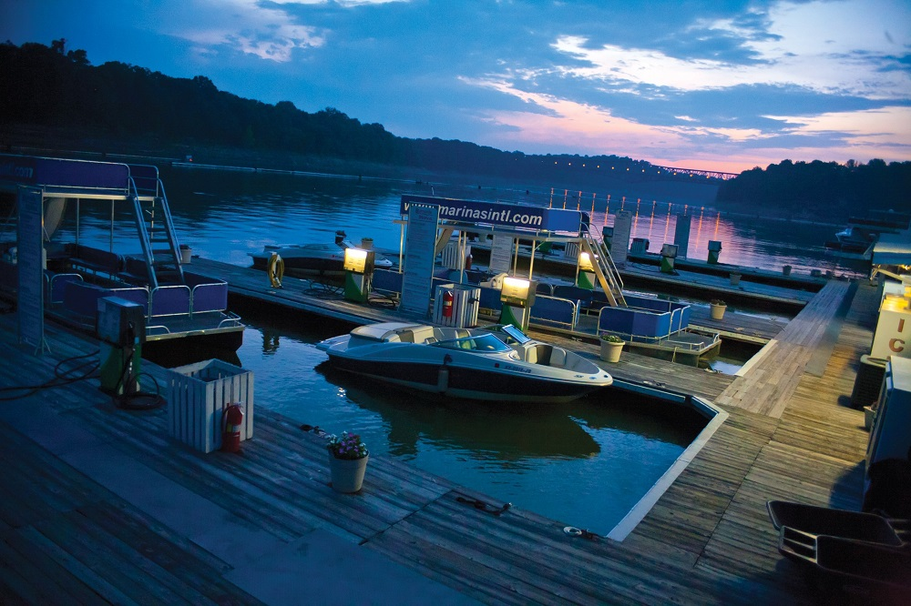 Burnside Marina on Lake Cumberland