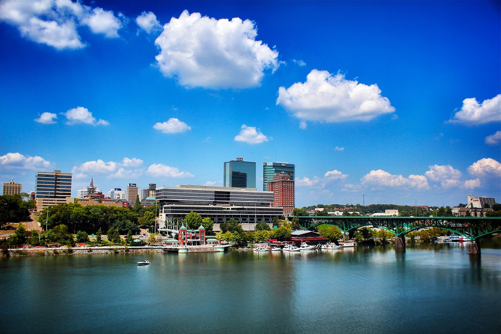 Knoxville, Tennessee, riverfront