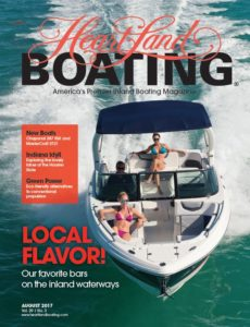 HeartLand Boating August Cover