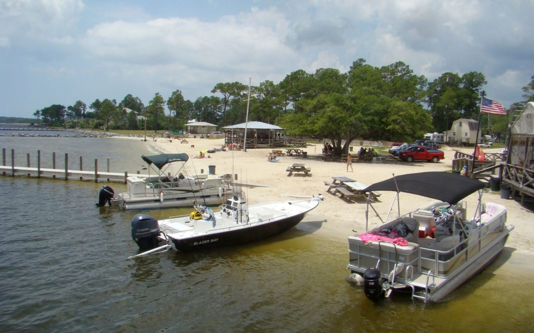 Top Gulf Coast Anchorages