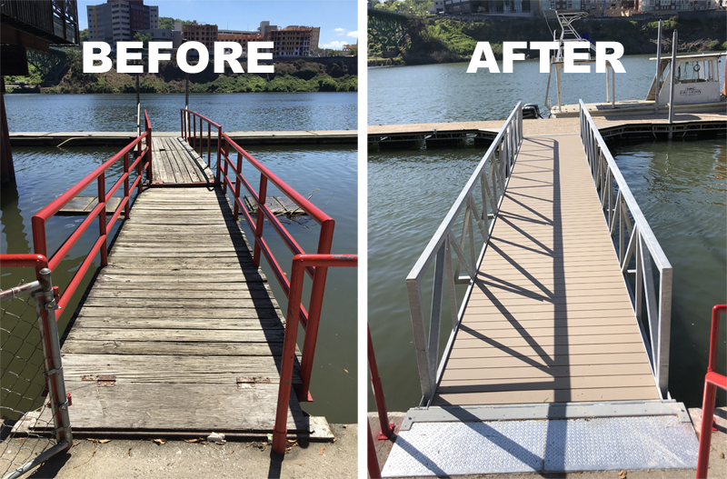 Volunteer Landing Dock Reopens in Knoxville
