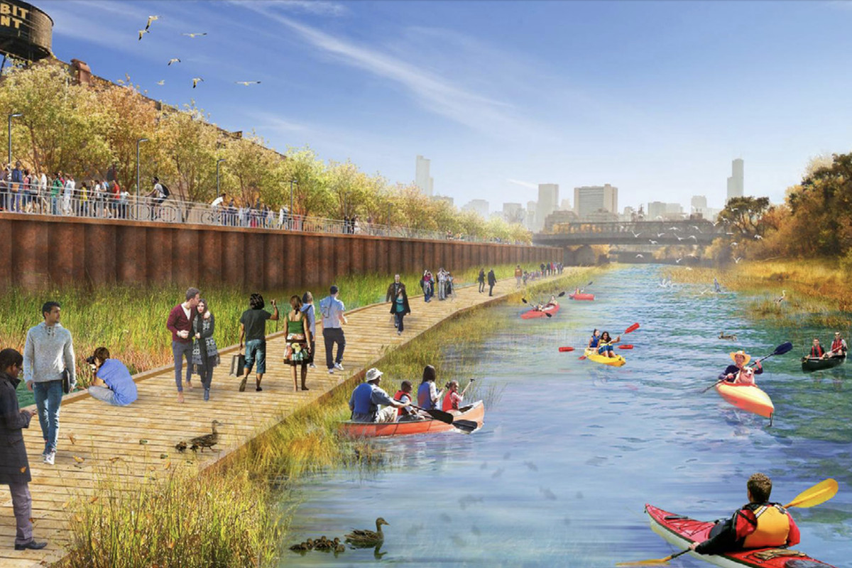 Image from North Branch Framework Plan City of Chicago