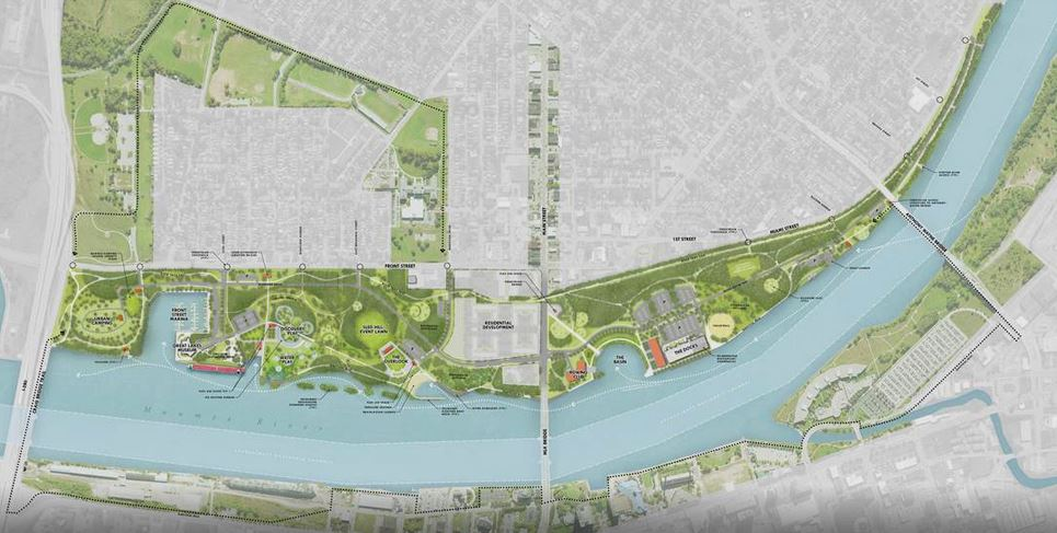 Metropark Toledo Marina District Plan